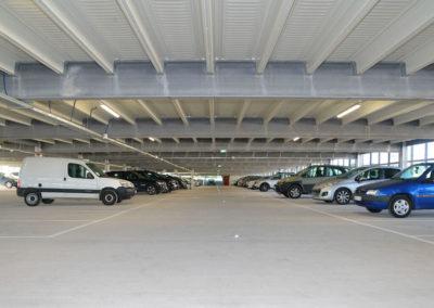 Parkhaus für Immobilienprojekt