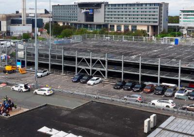 Flughafen-Parkhaus T1 in Manchester (MAN)