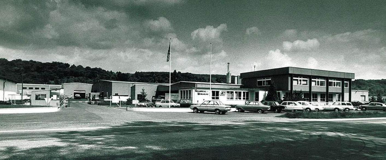 Erste Betriebsstätte in Diekirch im Jahr 1967