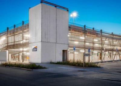 Klinik-Parkhaus in Lüttich (Belgien)