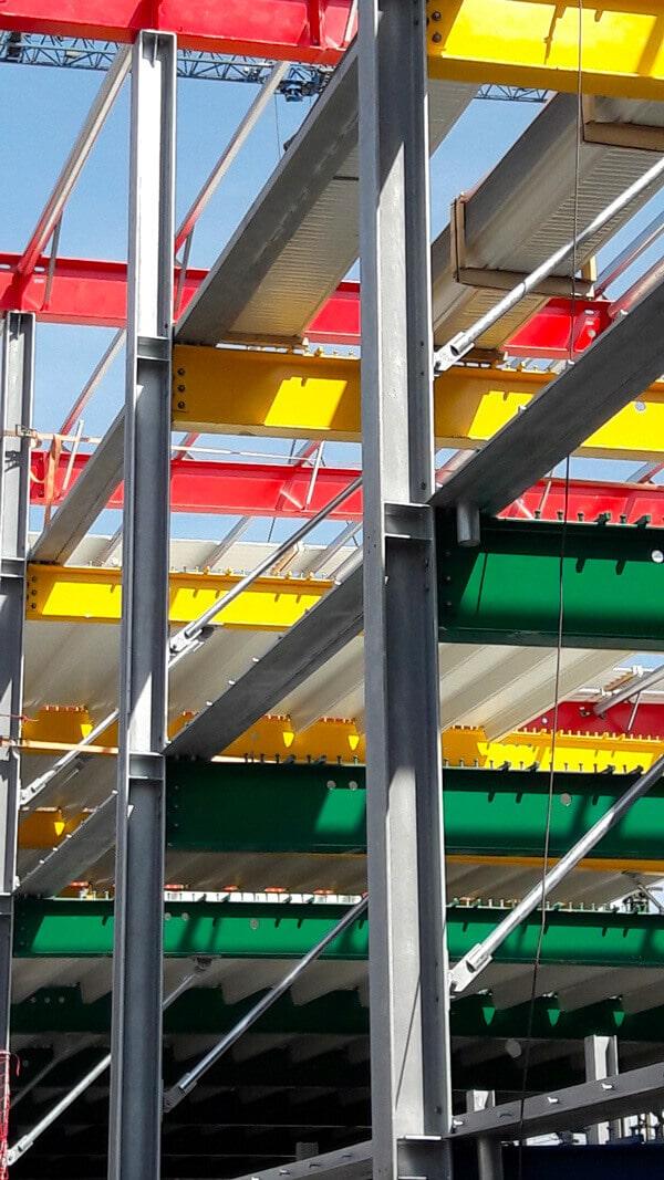 Konstruktion für Parkhäuser
