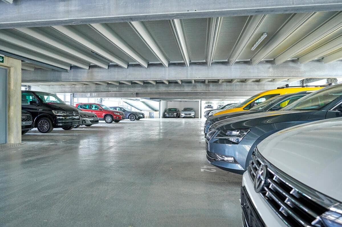 Unsere Parkhäuser sind qualitativ hochwertig, wirtschaftlich und nachhaltig