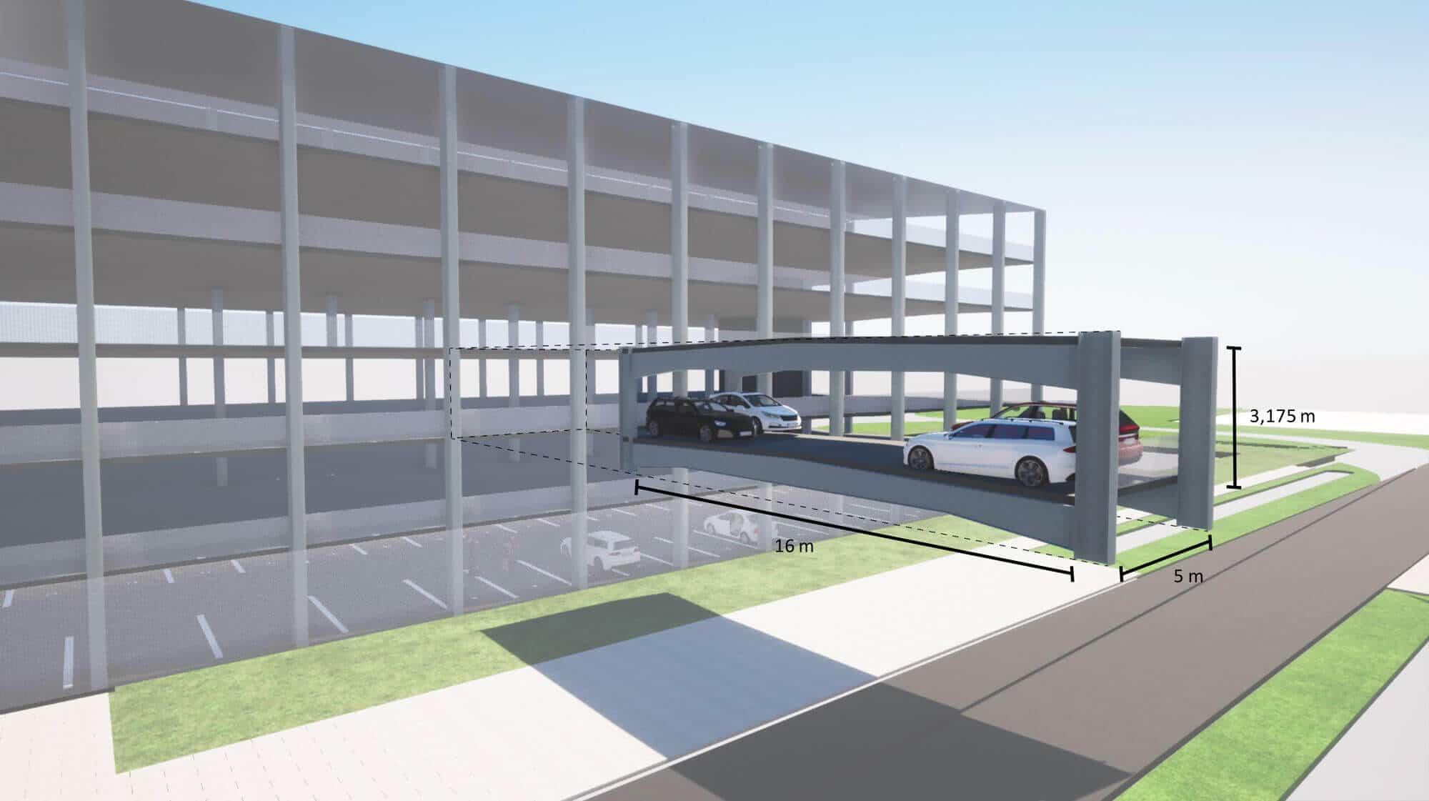 Das modulare Astron-Parkhaus basiert auf einem innovativen und flexiblen Bausystem