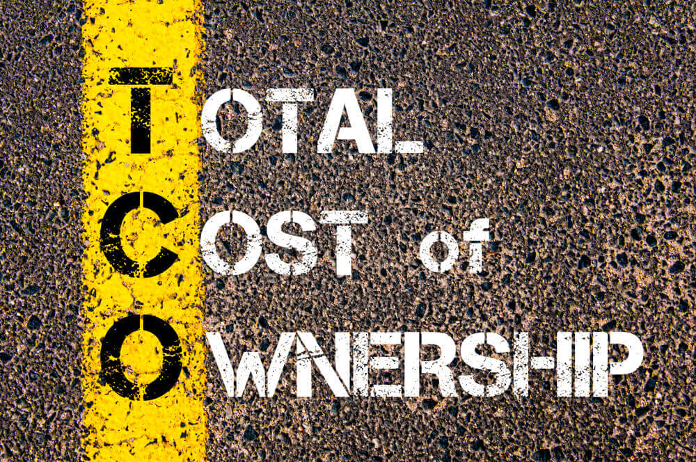 Total Cost of Ownership = Gesamtbetriebskosten