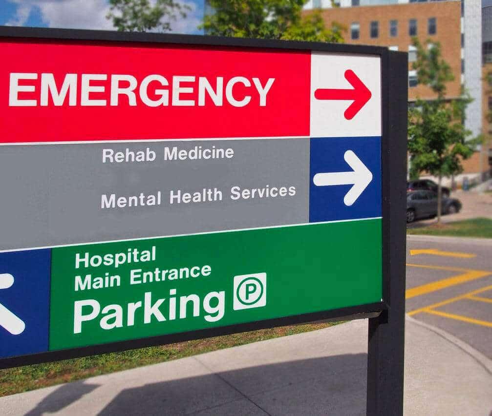 Der Bau eines Parkhauses bei laufendem Krankenhausbetrieb