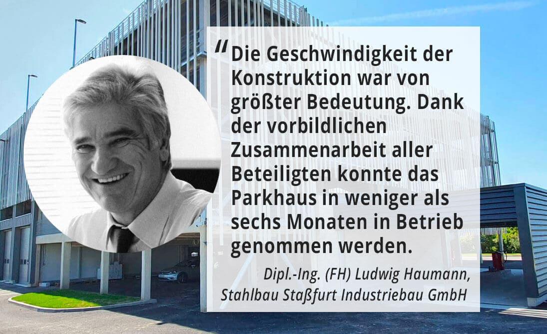 Dipl.-Ing. (FH) Haumann Ludwig, Stahlbau Staßfurt Industriebau GmbH