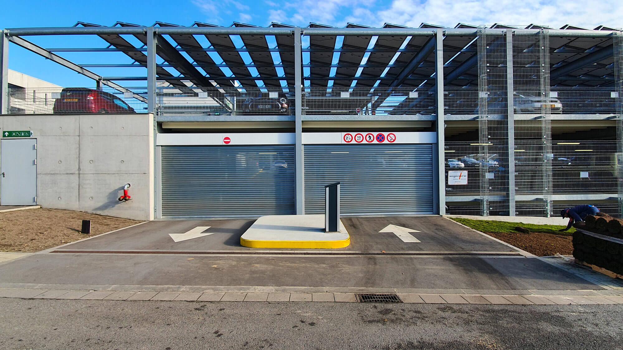 Finden Sie die optimale Lösung für Ihr Parkhaus, für die Nutzung von Strom zur Einspeisung ins Netz oder zum Eigenverbrauch