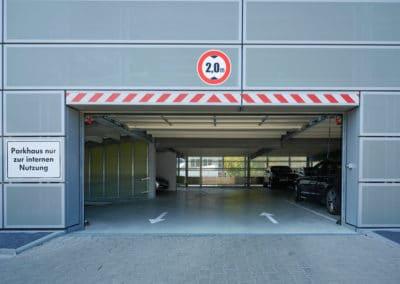 Parkraum für Porsche