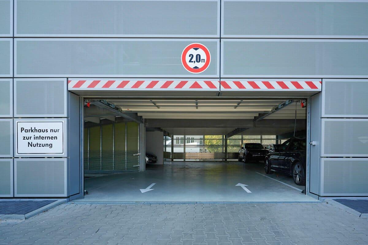 Regularien für Parkhäuser